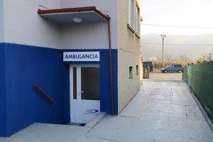 Vchod do ambulancie